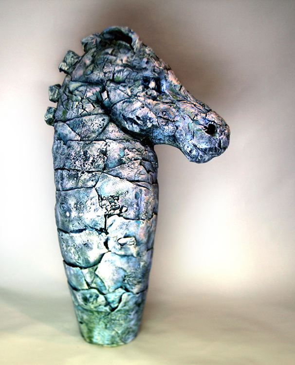 Wild Horse Head - Small Sculpture, Off The Wall
