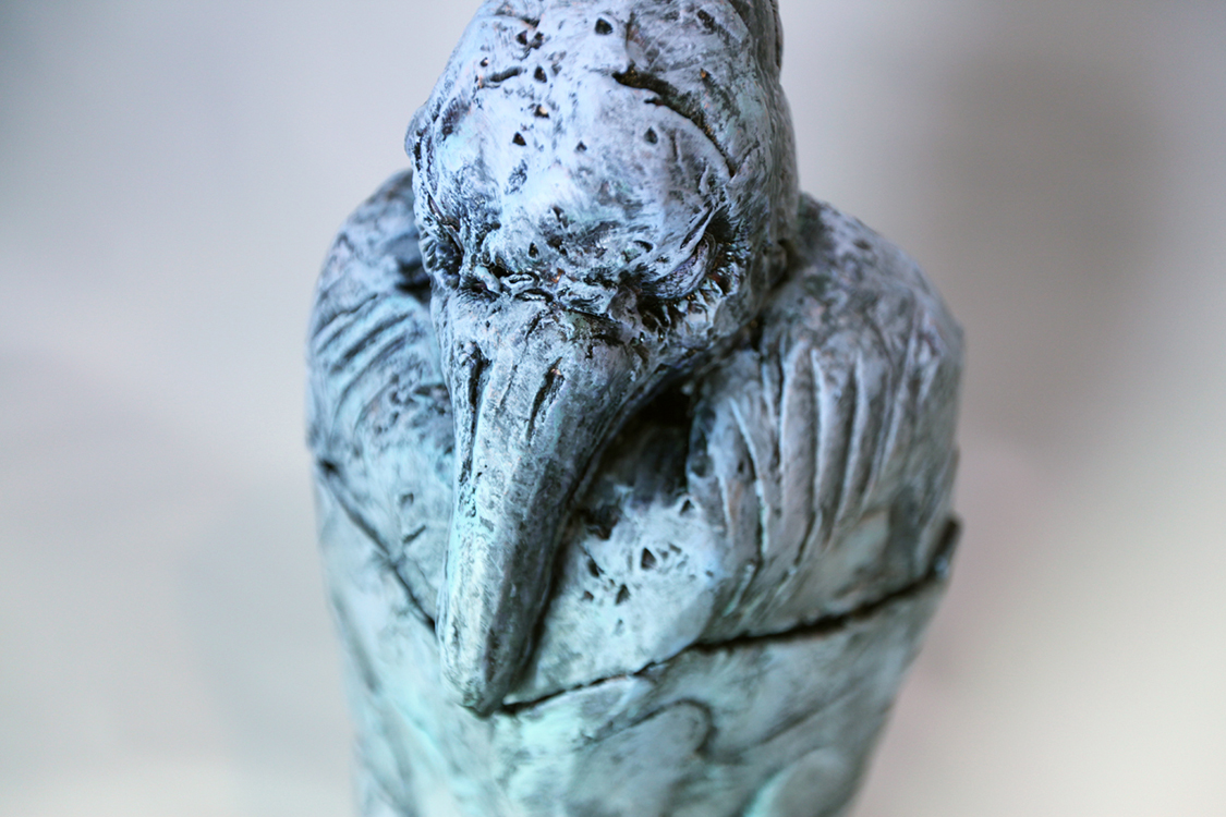 Raven Vessel - Small Sculpture