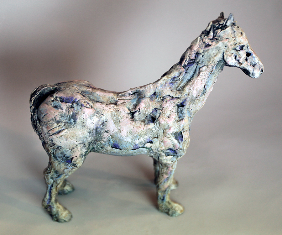 Standing Horse - Small Sculpture