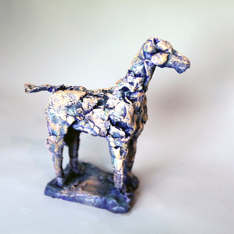 Modern Horse - Small Sculpture